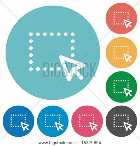 Flat Drag Icons