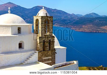 Panaghia Thalassitra church Milos Greece