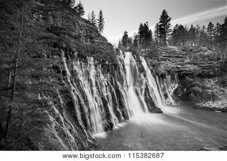Mcarthur-burney Falls In Northern California