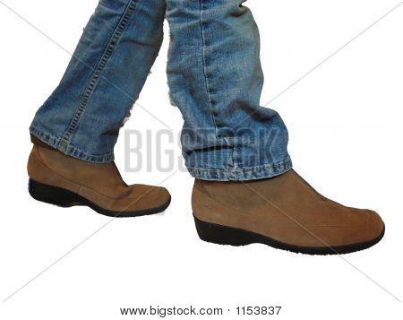 Boots Walking