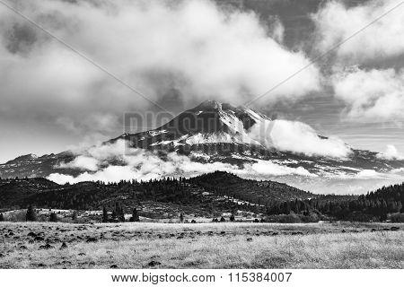 Mt Shasta In The Winter
