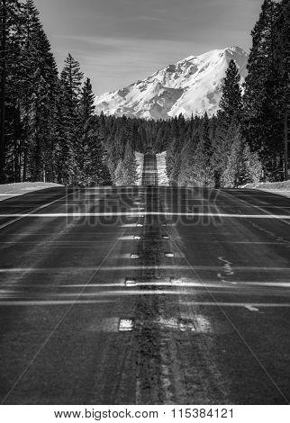 Road To Mt Shasta