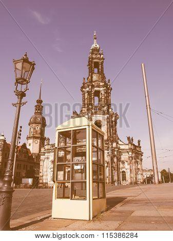 Dresden Hofkirche Vintage