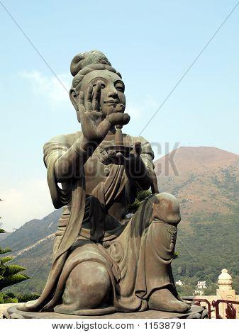 Chinese Buddha disciples