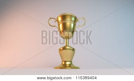 golden 3d world cup