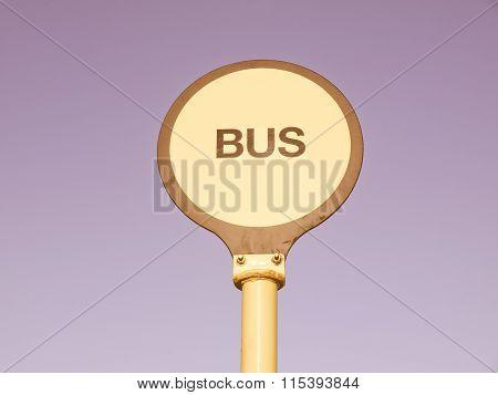 Bus Stop Vintage