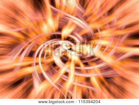 Abstract Multi-color Burst Background