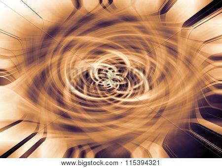Abstract Flower Burst Background