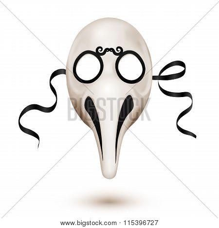 Traditional Venetian carnival mask - doctor plague