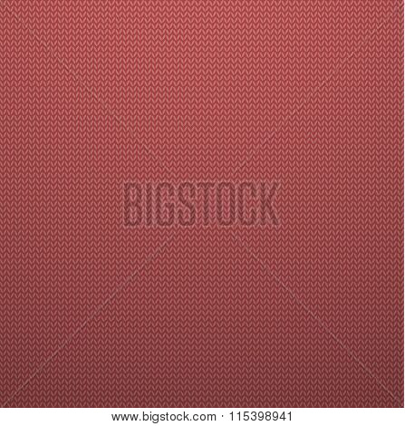 Knitted Style Pink Seamless Pattern. Vector EPS10 Seamless Patte