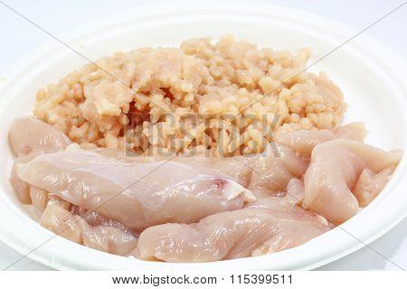 Chicken Fillet And Minced Chicken
