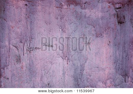 Grunge old metal wall