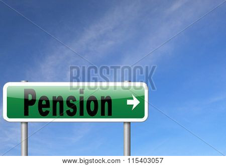 Pension fund and retirement regulation, a plan for insurance and social security.