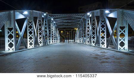 Iron Bridge In Murcia V