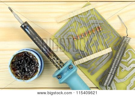 Soldering Of Electronic Components