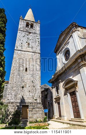 The Parish Church - Bale, Istria, Croatia, Europe
