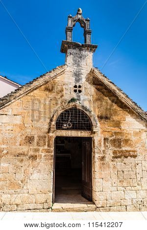 Entrance Into Holy Spirit Church - Bale, Croatia