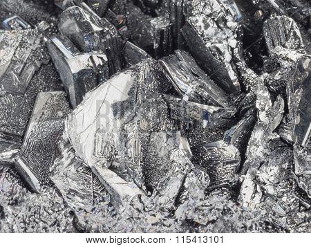 Natural Unusual Gray-black Stone Cassiterite