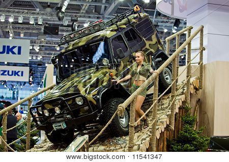 Uaz Patriot Presented On 26 August 2010, Moscow, Russia.