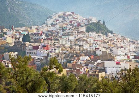 Old City In Morocco Africa Land Home And Landscape Valley