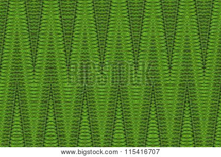 Texture With Patterned Light Green Stripes