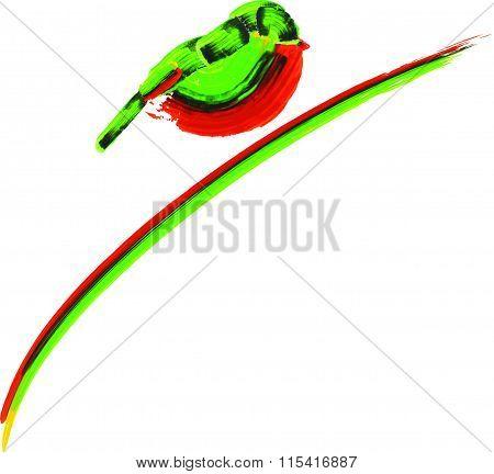 little sparrow (icon,logo)