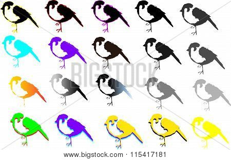 icons of the littles sparrows