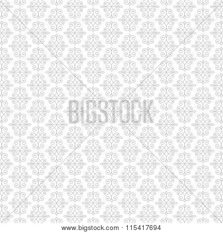 Vintage Vector Ornament Pattern Design. Flourishes calligraphic background.