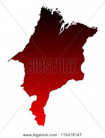 Map Of Maranhao