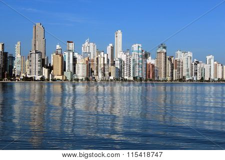 City view of Balneario Camboriu