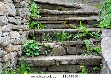 Old Medieval Steps
