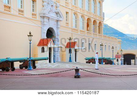 Prince's Palace of Monaco.