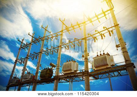 Backlighting Of Power Transformer