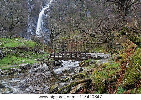 Aber Falls Waterfall Wales
