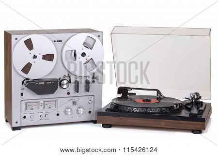 Analog Stereo Reel Recorder Player