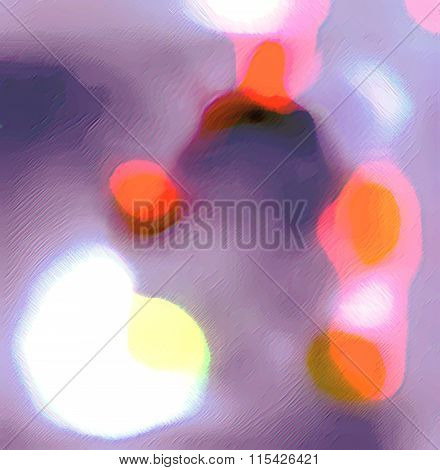 Color Abstract Fantasy Untitled.