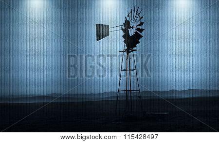 Windmill Water Pump