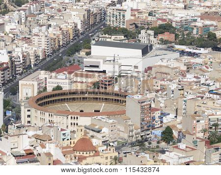 Residential Areas And Bullring Alicante