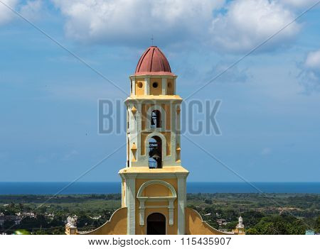 Old Church in Trinidad,Cuba