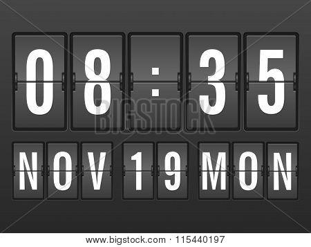 Flip Clock Background