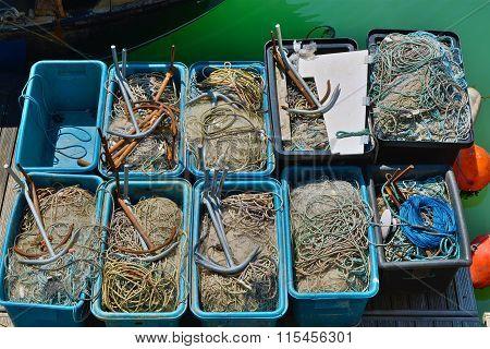 Fishing Equipment, Brighton, England