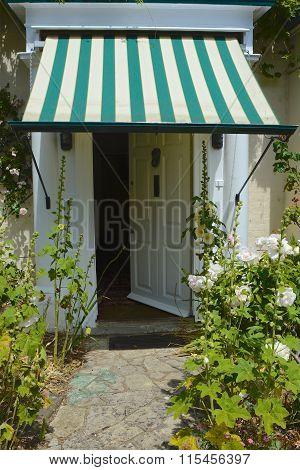 Open Door To House