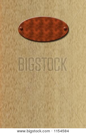 Blank Doorplate
