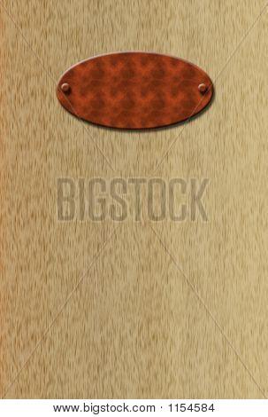 Blank Doorplate