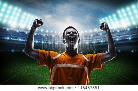 Soccer triumphant.