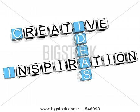 Creative Idea Inspiration Crossword
