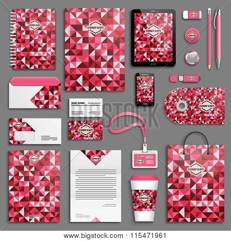 Love hearts Corporate identity