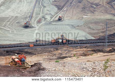 Coal mine, Most