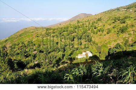 Ribeira Filipe And Its Surrounding Landscape