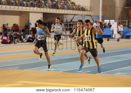 Indoor Athletics Record Attempt Races